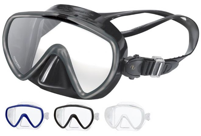 Tusa - Concero M17 Scuba Diving - FRAMELESS Snorkelling Mask with Ultra Low Volume